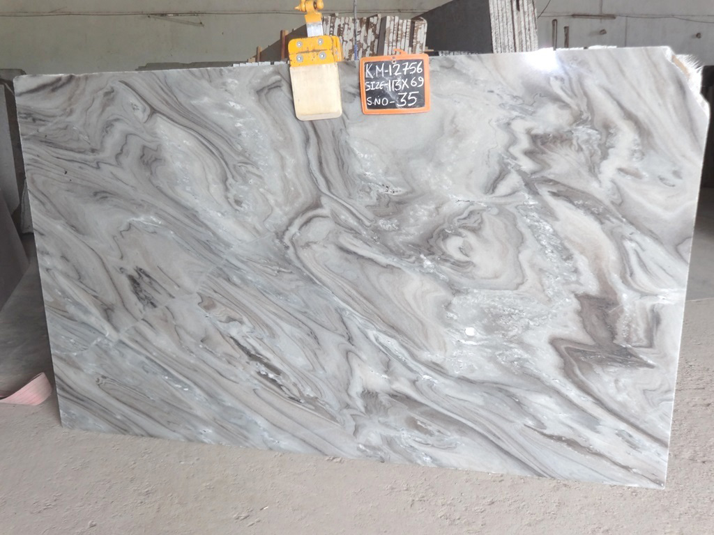 Bruno White Marble Indian High Quality Marble Slabs