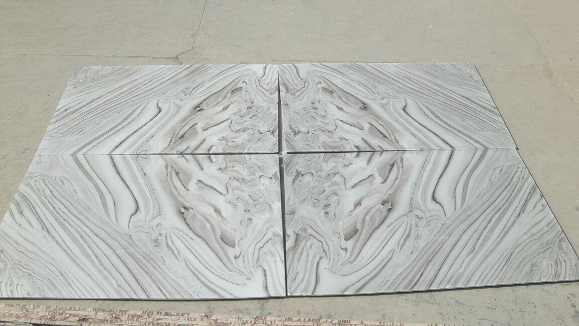 Bruno White Stone Tiles