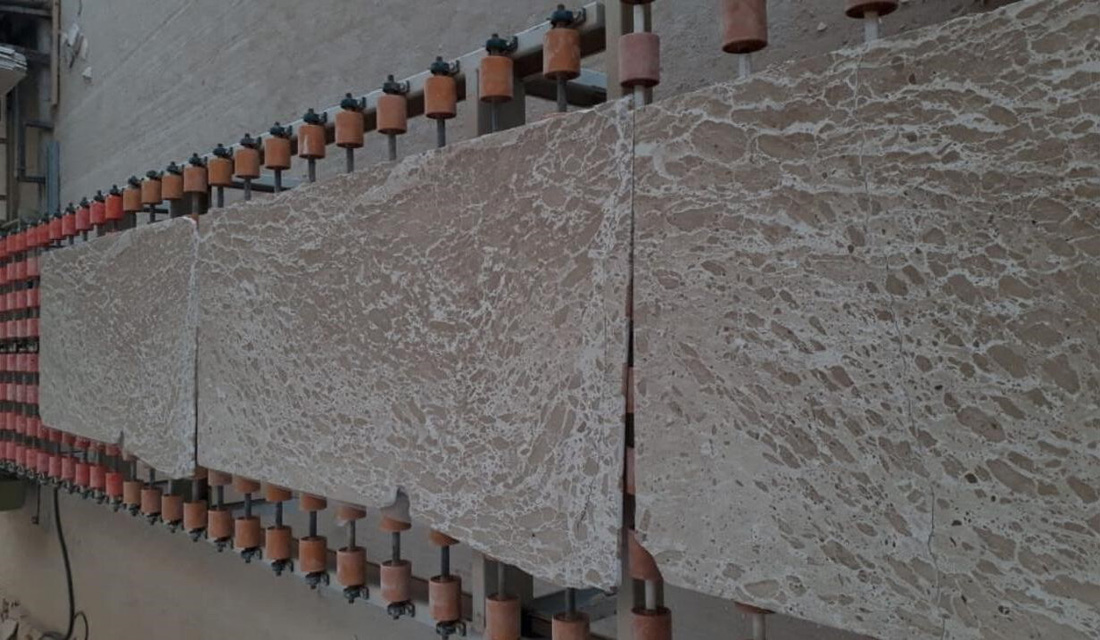 Brushed Duka Limestone Slabs with Competitive Price