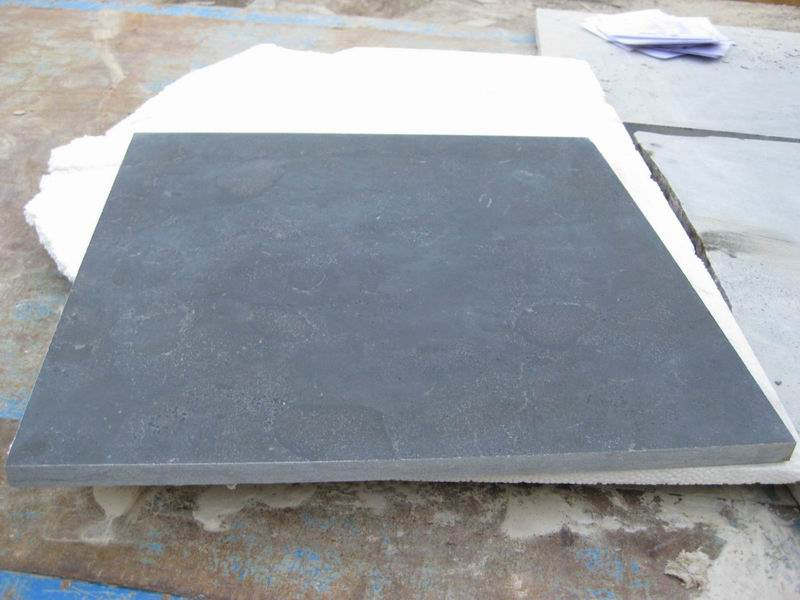 Blue Limestone Honed Tiles with Competitive Price