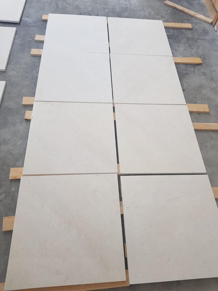 Burdur Beige Marble Flooring Tiles from Turkey