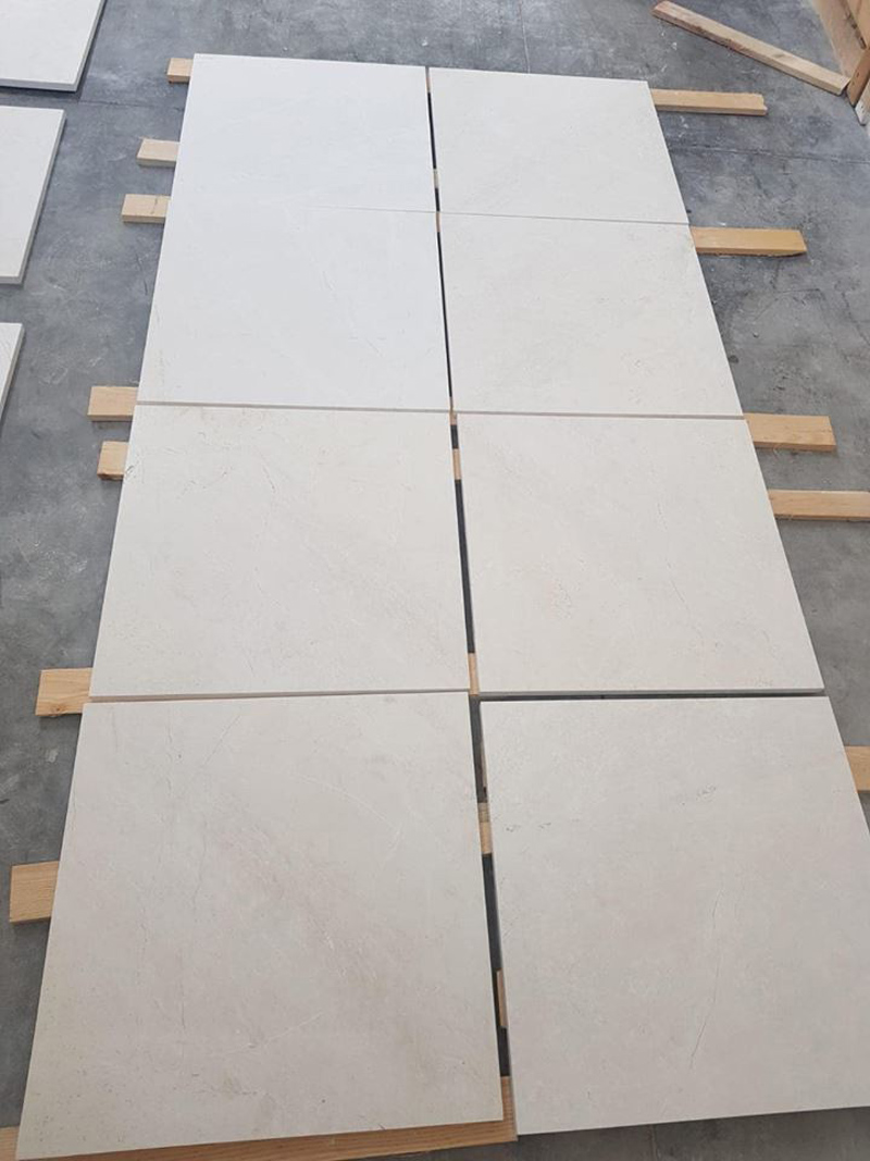 Burdur Beige Marble Tiles Polished Flooring Tiles