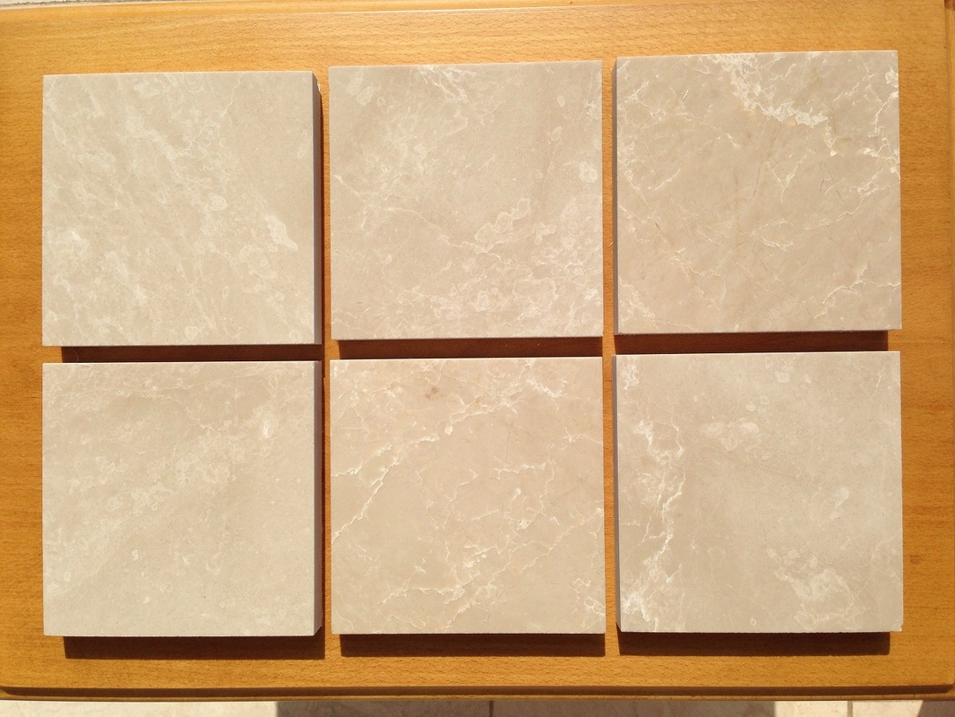 Burdur Beige Marble Tiles Polished Turkey Beige Marble Stone Tiles