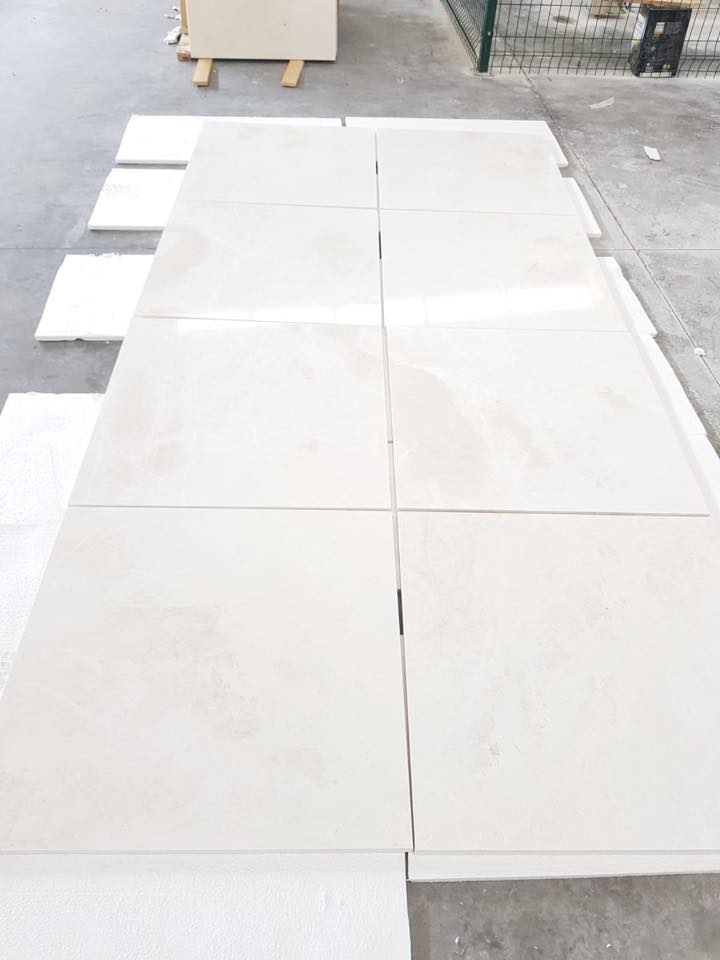 Burdur Beige Marble Tiles from Turkey