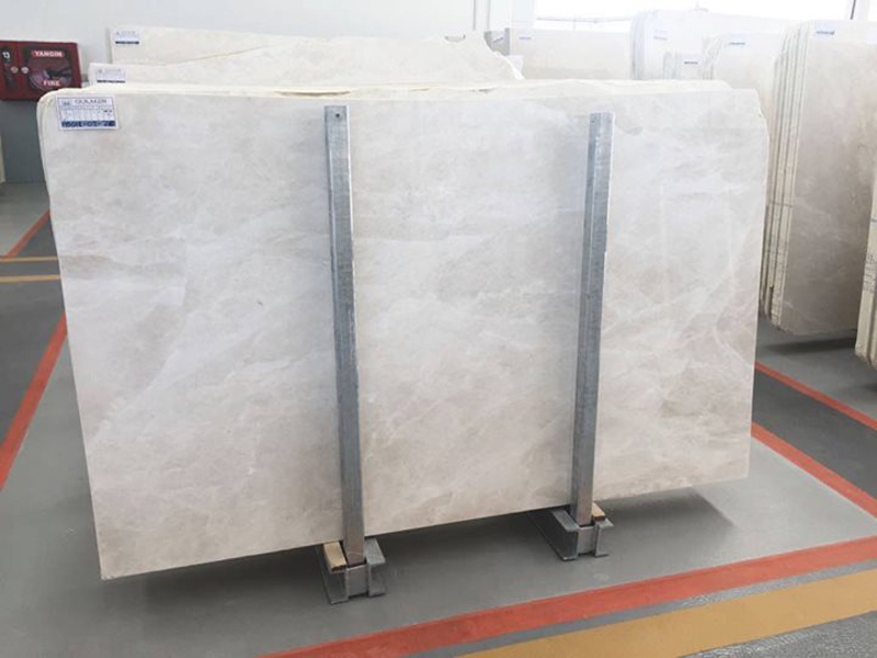 Burdur Beige Slabs Turkish Natural Beige Marble Slabs
