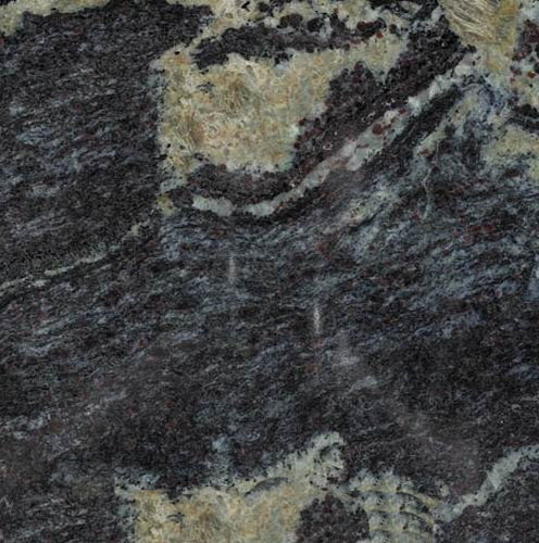 Burgandy Blue Granite