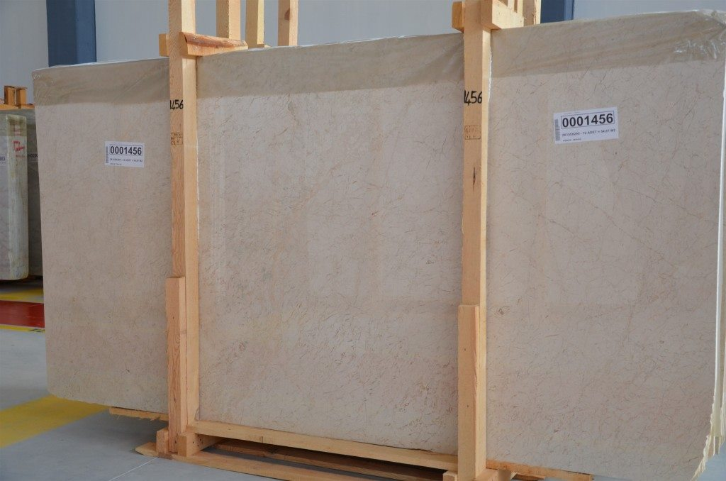 Bursa Beige Slab Polished Beige Marble Slabs