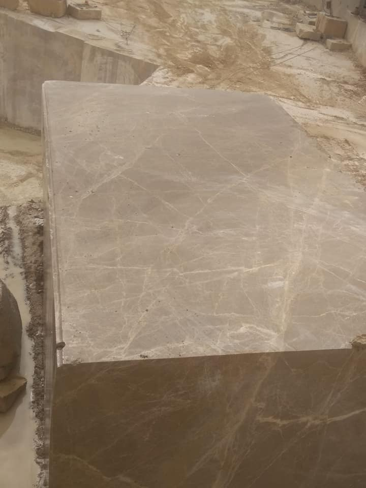 Bursa Light Emperador Marble Blocks Brown Marble Blocks