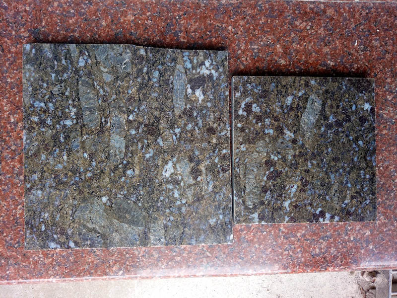 Butterfly Blue Granite Tiles for Walling