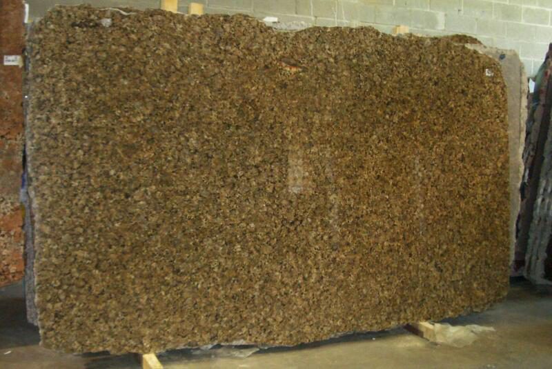 Butterfly Gold Granite Slabs Brazil Polished Yellow Granite Slabs