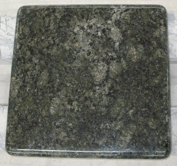 Butterfly Green Granite Tiles Polished Green Granite Flooring Tiles