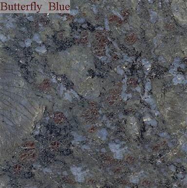 Butterfly Blue Granite Slabs & Tiles