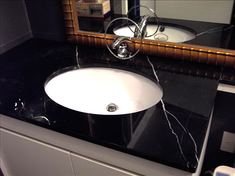 Bathroom Countertop Vanity Tops Black