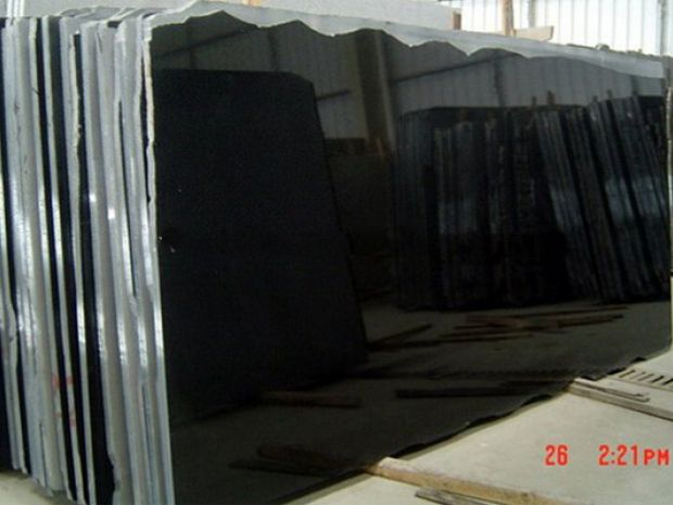 CHINA ABSOLUTE BLACK GRANITE SLAB