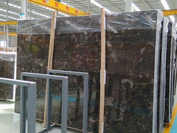CHINESE EMPERADOR DARK Marble in Blocks Slabs Tiles