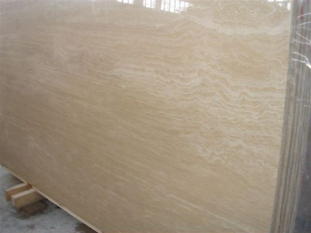Classic Beige Travertine Large Slabs
