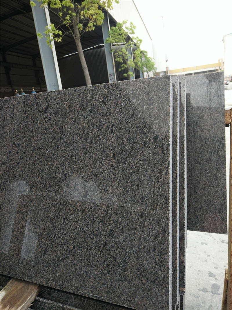 Cafe Imperial Granite Brown Granite Slabs Polished from Chinese Direct Supplier