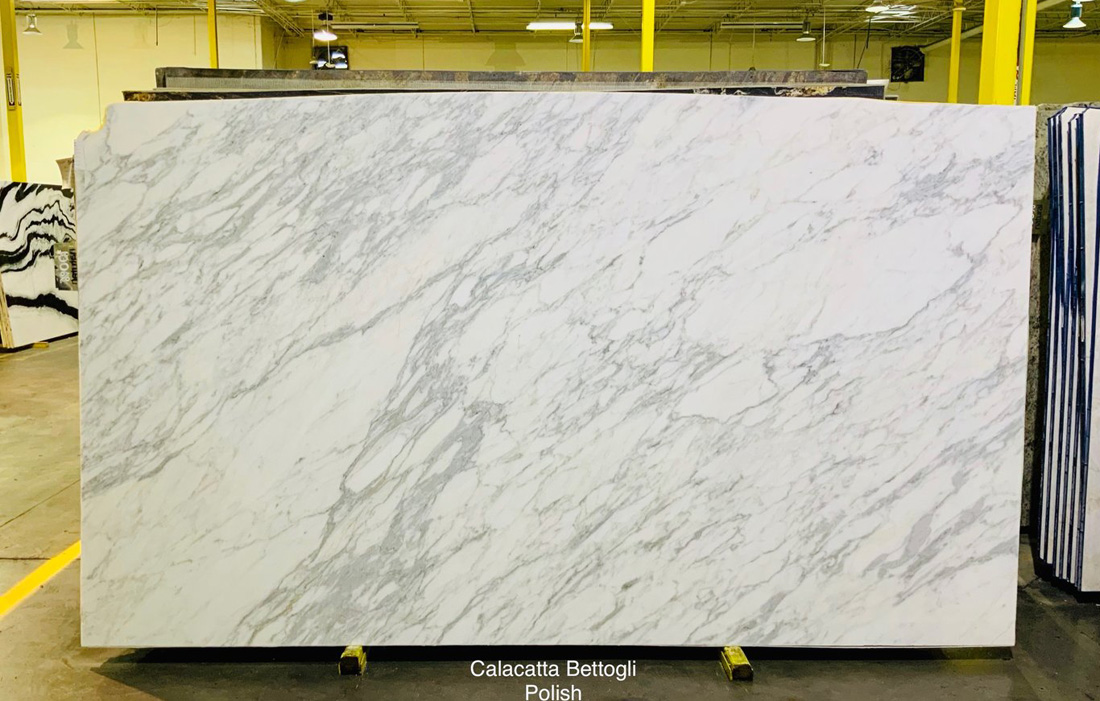Calacatta Bettogli White Marble Slabs Italian Polished Marble Slabs