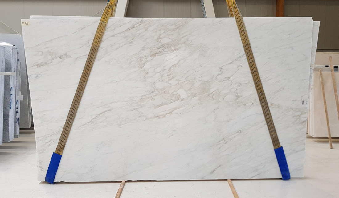 Calacatta Caldia Marble Slabs White Polished Marble Slabs