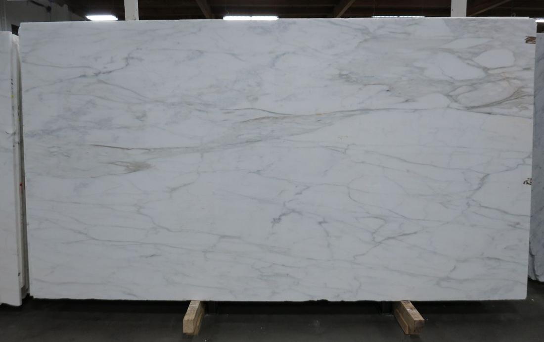 Calacatta Caldia Polished White Marble Slabs Italian Stone Slabs