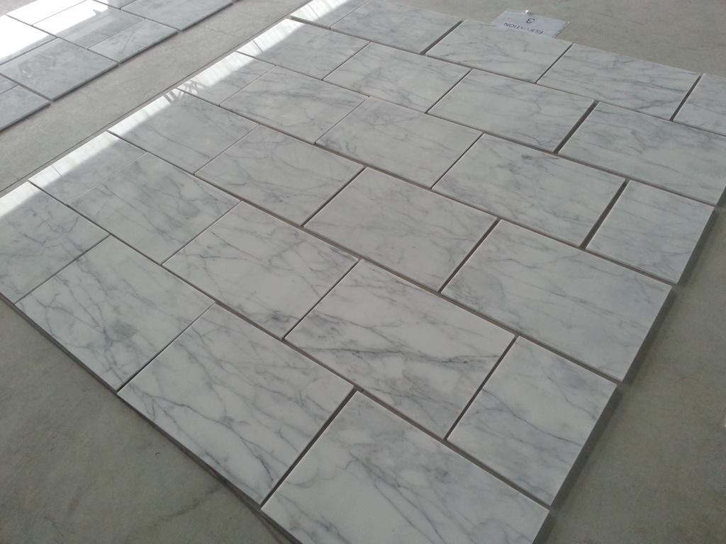 Calacatta Caldia Polished White Marble Tiles Walling and Flooring Tiles