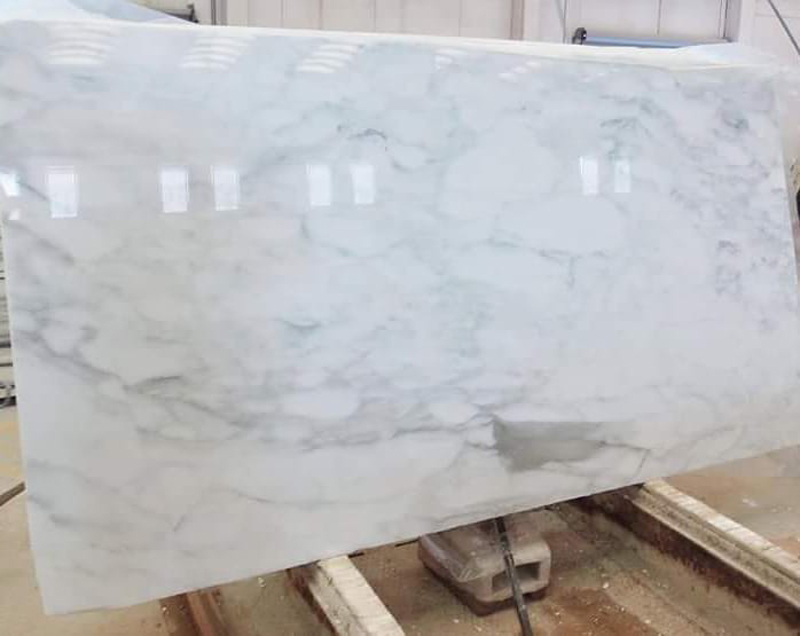 Calacatta Caldia White Marble Polished Slabs from Italy