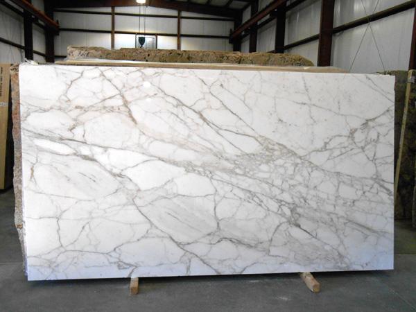 Calacatta Carrara Marble White Polished Marble Slabs