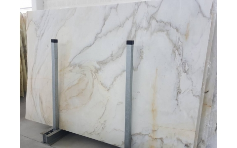 Calacatta Cremo Marble Slabs
