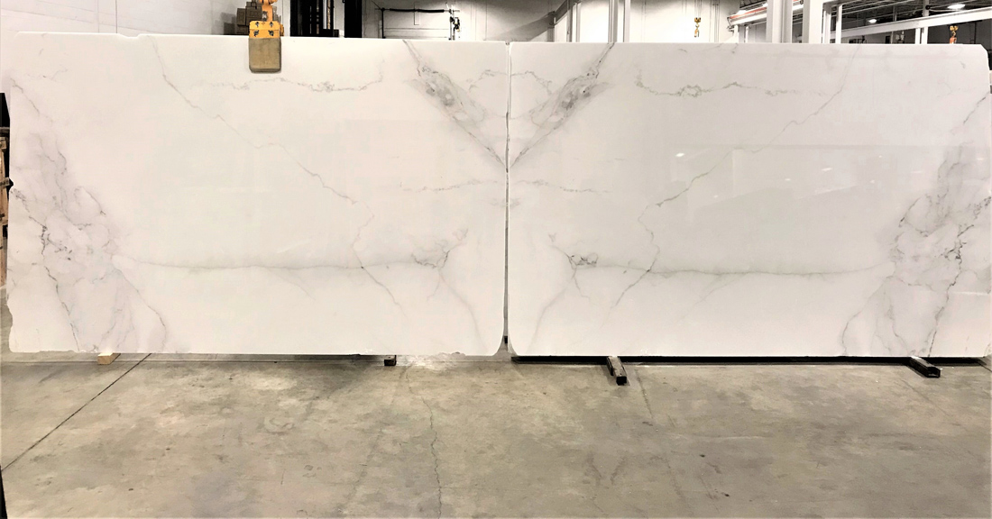 Calacatta Executive Slabs Italian Polished White Marble Stone Slabs