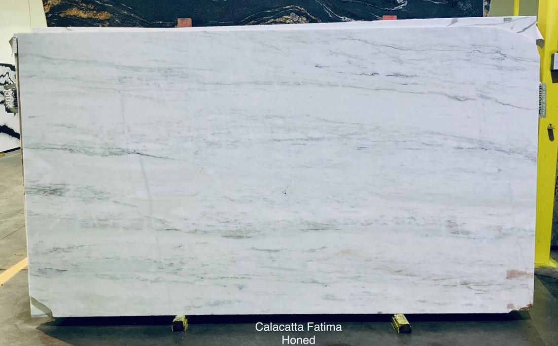 Calacatta Fatima Marble Slabs Portugal Honed White Marble Slabs