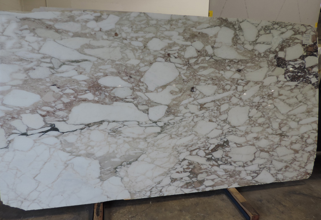 Calacatta Gold Marble Slabs Polished Italian Marble for Vanity Tops