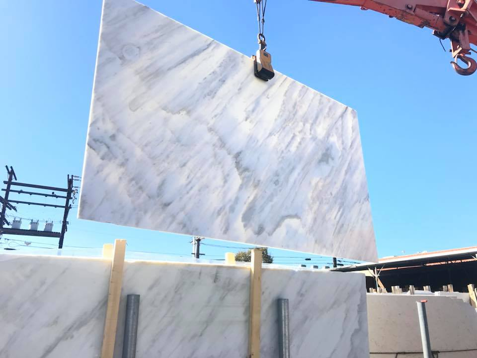Calacatta Gold Marble Slabs Polished White Marble Slabs