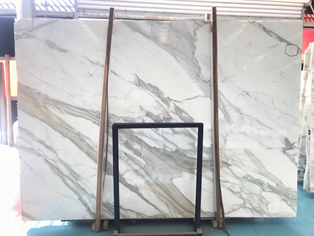 Calacatta Gold Marble Slabs Top Quality White Marble Slabs