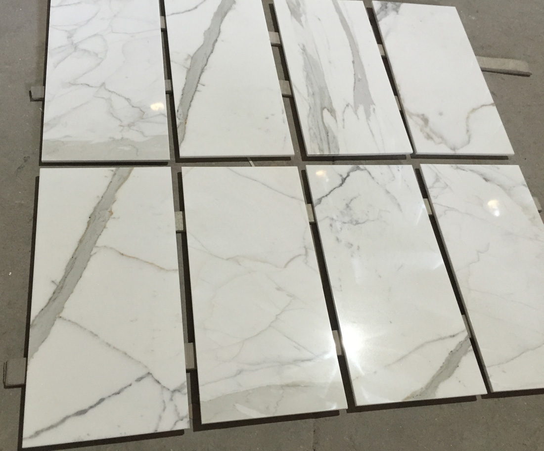 Calacatta Gold Marble Tiles Top Quality White Marble Tiles
