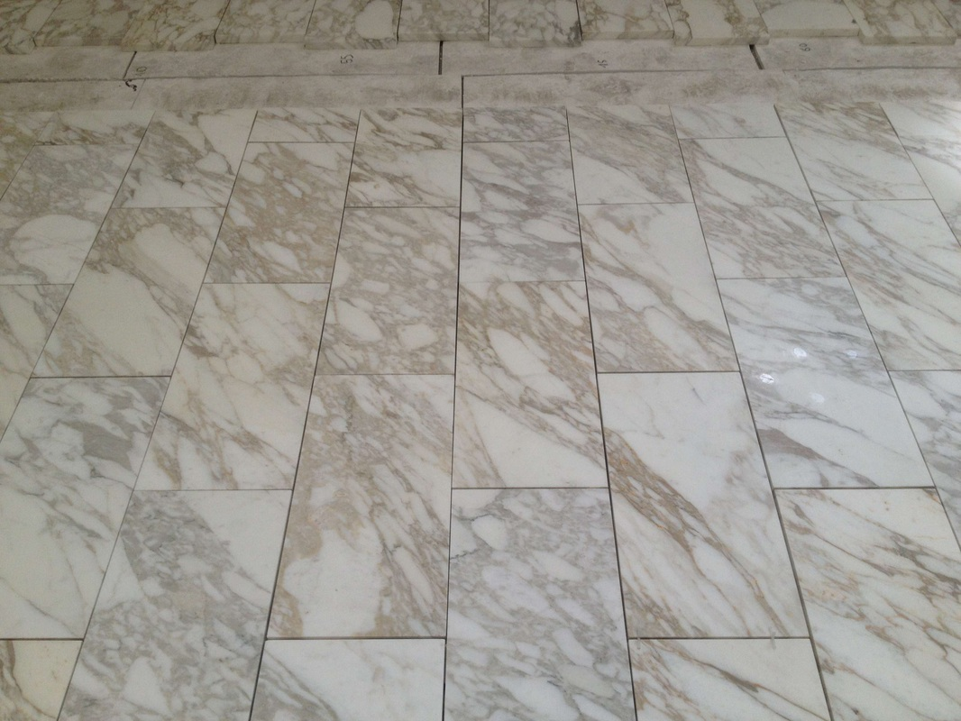 Calacatta Gold Marble Tiles White Honed Marble Stone Tiles