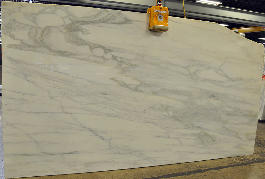 Calacatta Gold Polished Marble Slab for Vanity Tops