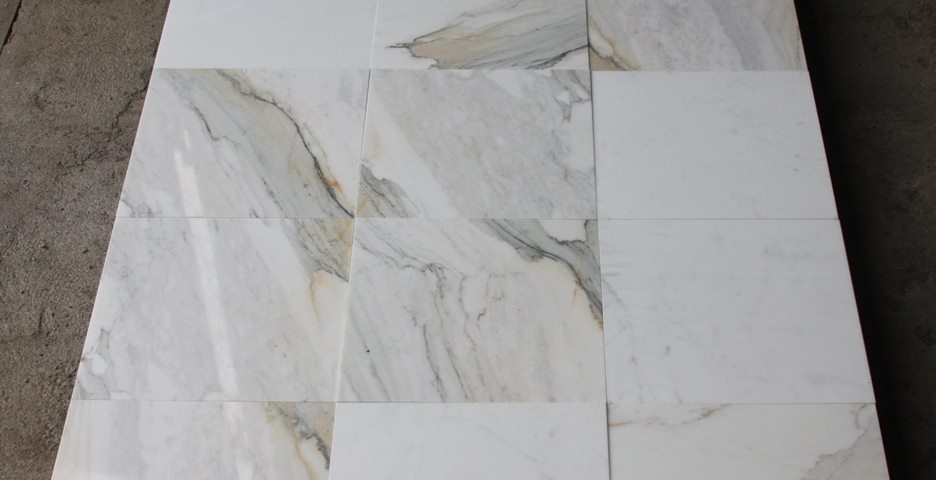 Calacatta Gold Polished Marble Tiles Walling and Flooring Tiles