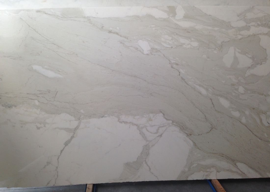 Calacatta Gold Polished Slabs Top Quality White Marble Stone Slabs