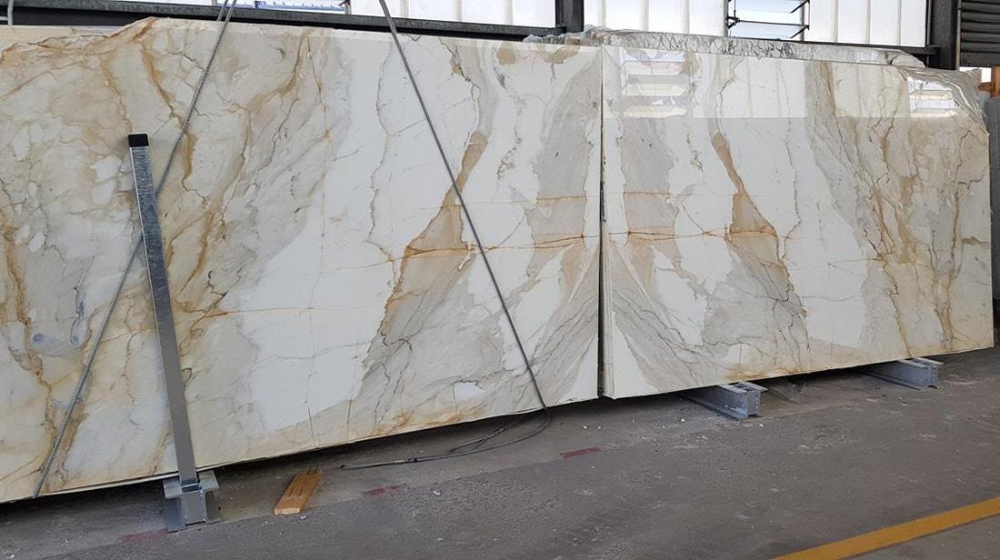 Calacatta Gold Slabs Polished Marble Slabs