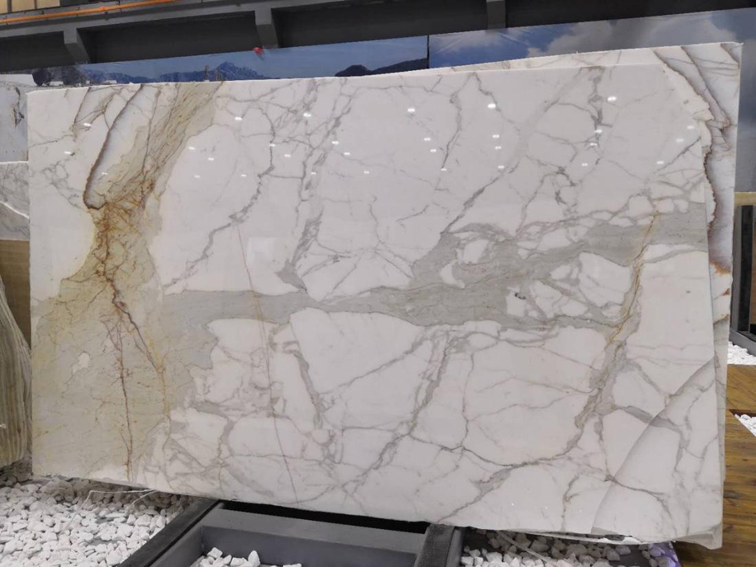 Calacatta Gold White Marble Slabs