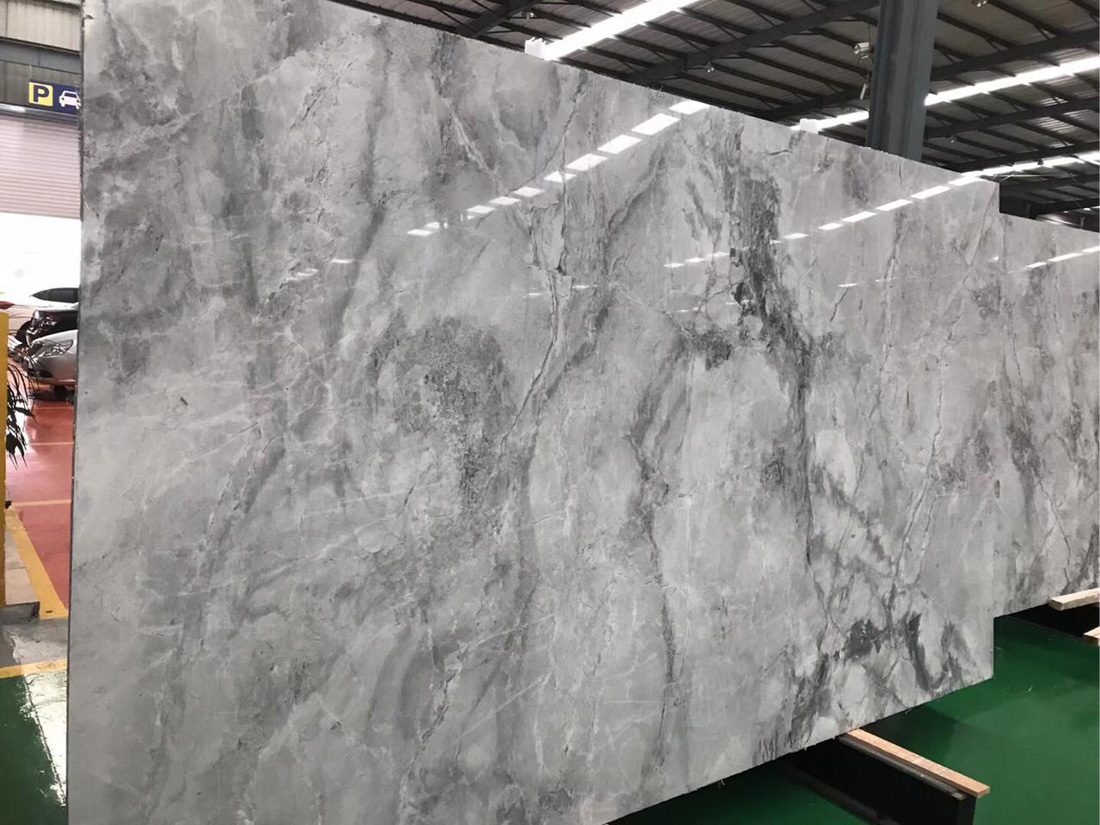 Calacatta Grey Polished Marble Slabs from China