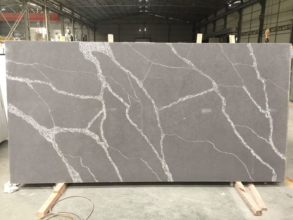 Calacatta Grey Quartz Slabs