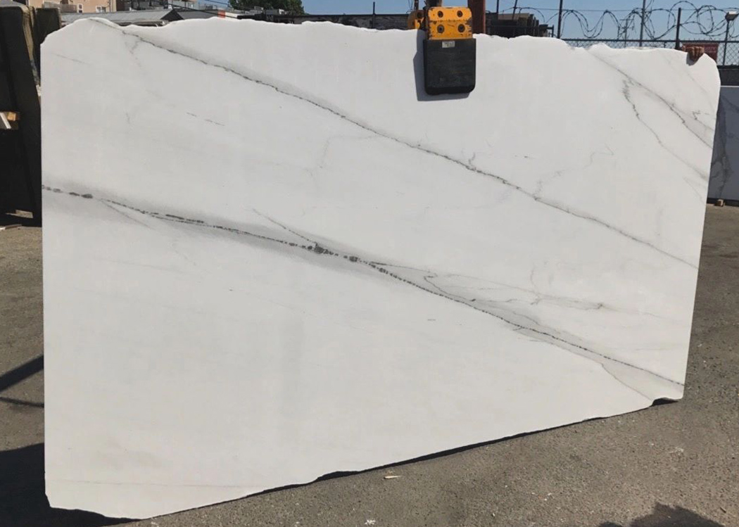 Calacatta Lincino Marble Slabs White Polished Marble Stone Slabs