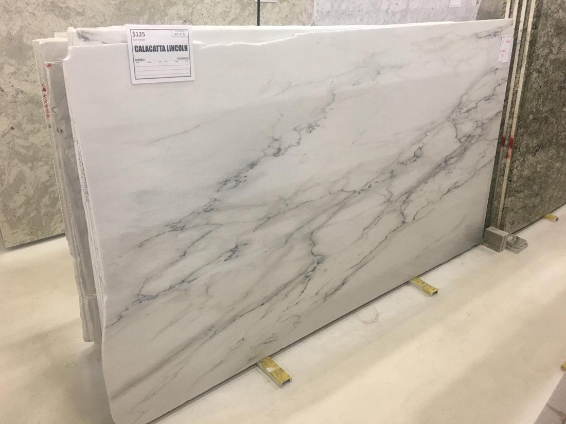 Calacatta Lincoln Marble Italian White Marble Slabs