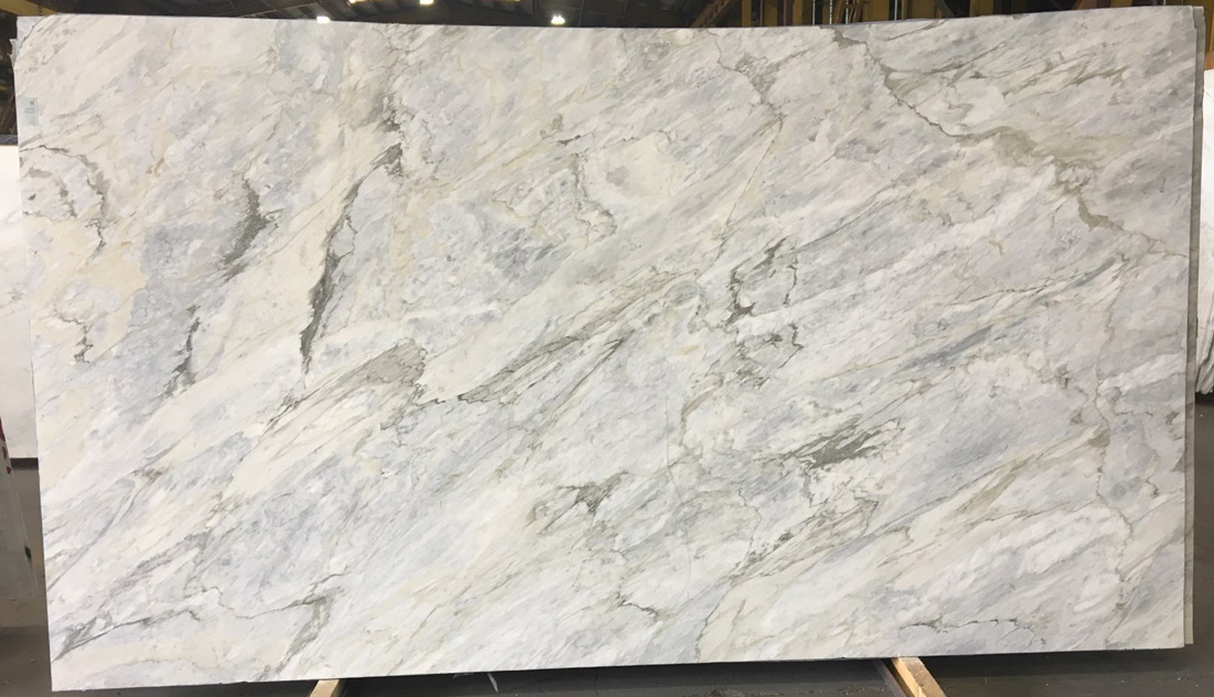 Calacatta Moonlight Marble Slab Italian Honed White Marble Slabs
