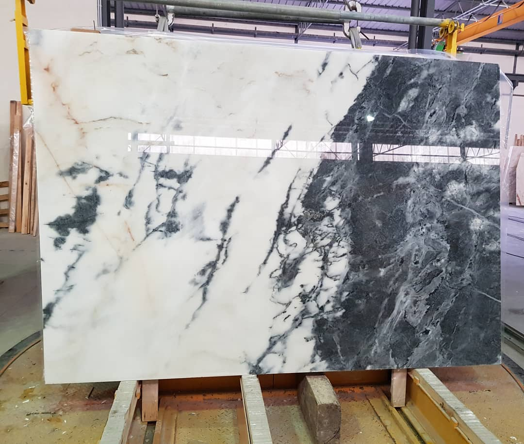 Calacatta Nero Marble Slabs Polished Marble Slabs with High Quality