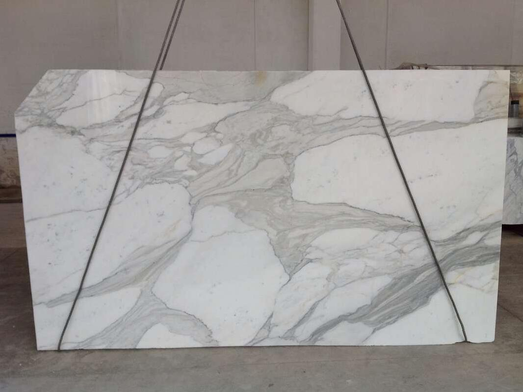 Calacatta Oro Gold Marble Slabs Polished White Marble Slabs