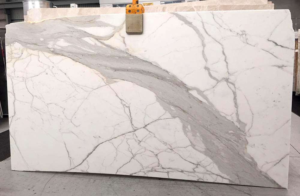 Calacatta Oro Slab Italian White Polished Marble Slabs