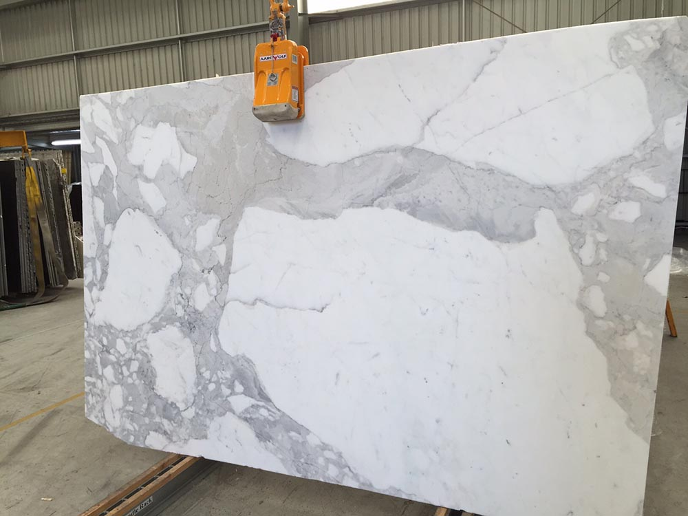 Calacatta Oro Slab White Polished Marble Stone Slabs