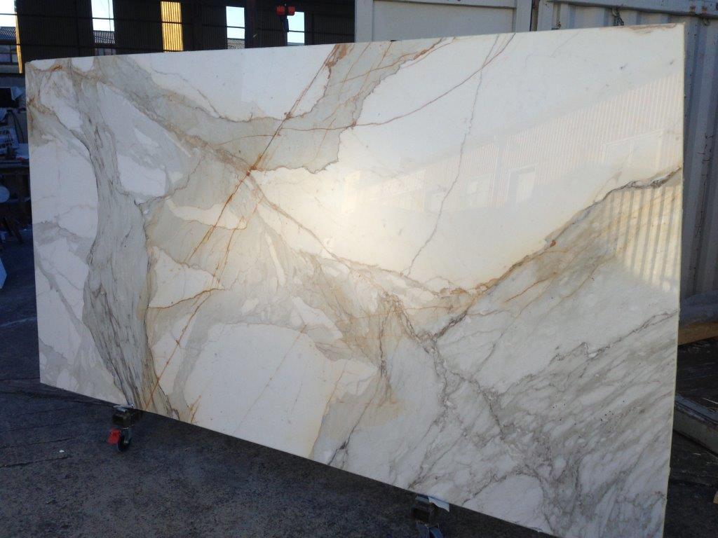 Calacatta Paonazzo White Marble Stone Slabs for Vanity Tops